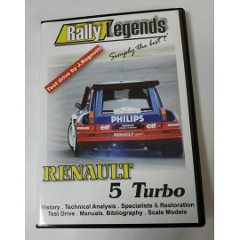 RALLY LEGENDS RENAULT 5 TURBO DVD